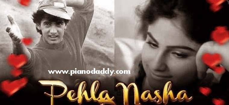 Pehla Nasha Piano Notes Westen Style   Pehla Nasha Piano Tutorial ...