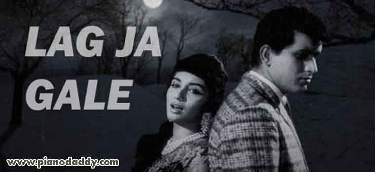 Lag Ja Gale Lata Mangeshkar Piano Notes Old Hindi Songs Piano