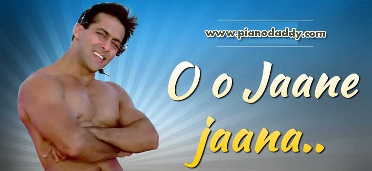 O O Jaane Jaana Pyar Kiya To Darna Kya Piano Notes | Piano Video ...
