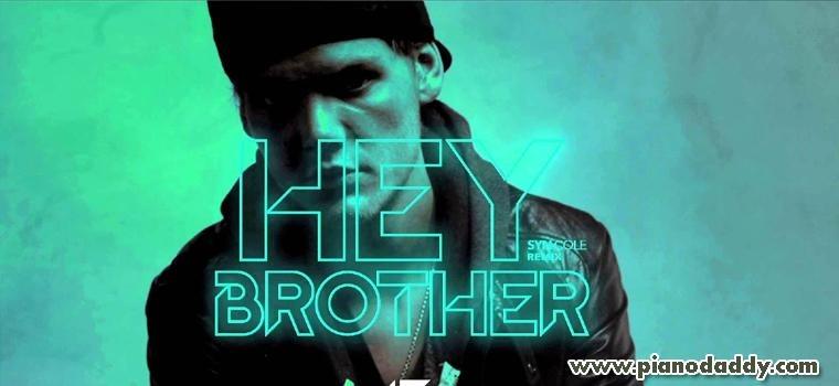 Hey Brother (Avicii) Piano Notes | English Songs Piano Notes | Piano ...