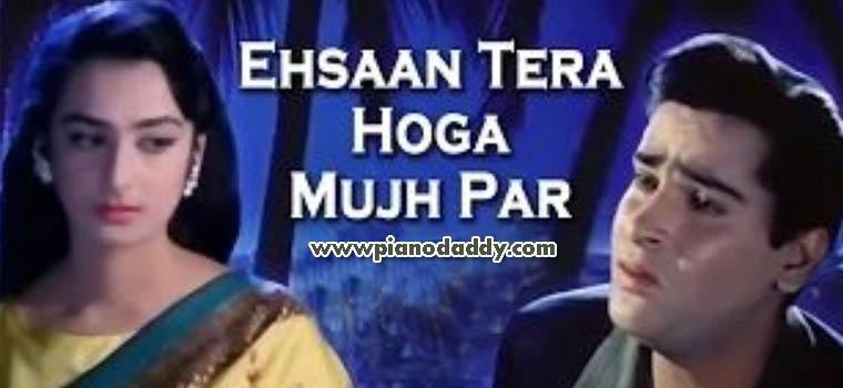 Ehsaan Tera Hoga Mujh Par (Junglee)