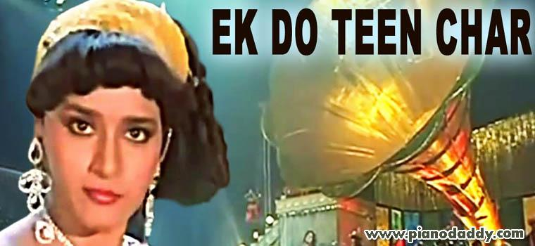 Ek Do Teen Lyrics - Tezaab - Indicine