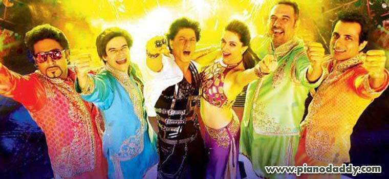 indiawaale happy new year piano notes
