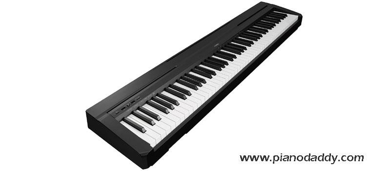 Best 88 key digital piano digital piano on finance for Yamaha p series p35b