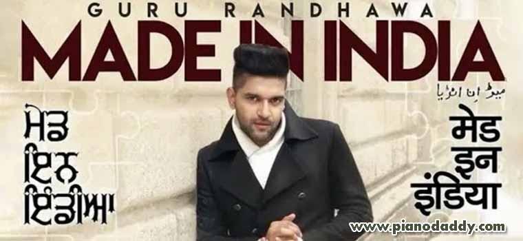 Made In India (Guru Randhawa)